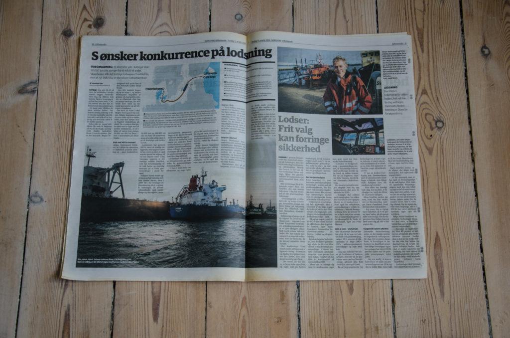 Lodslovgivning - I avisen